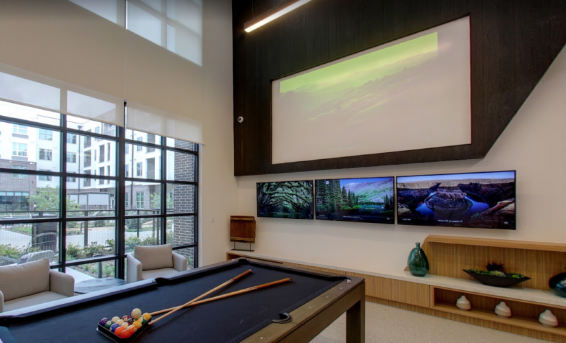 Resident Club Room & Sports Lounge
